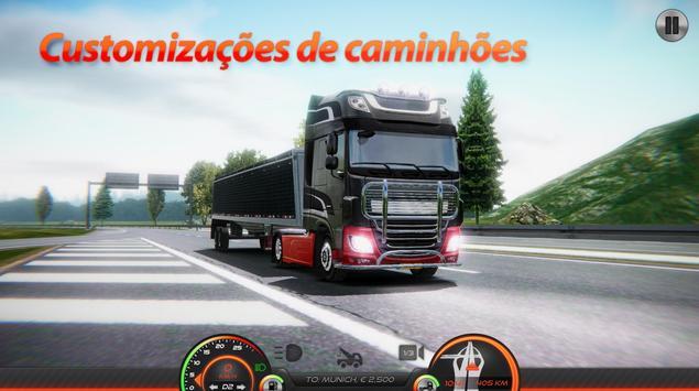 Simulador de caminhão: Europa 2 imagem de tela 4