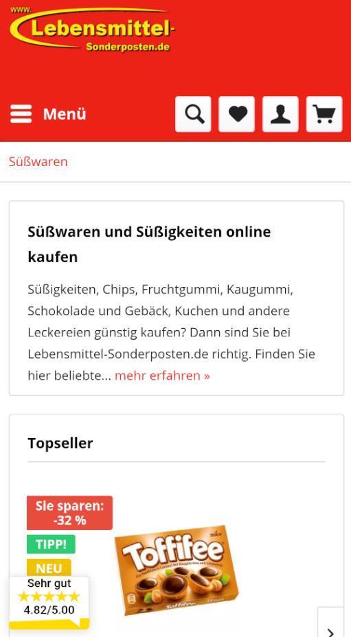 Lebensmittel-Sonderposten.de for Android - APK Download