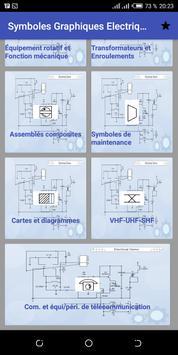 Symboles Graphiques Electrique poster