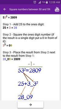 Math Tricks screenshot 5