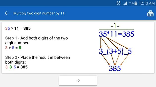 Math Tricks screenshot 9