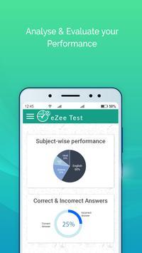 eZee Test Exam-preparation, Online Test Series App screenshot 5