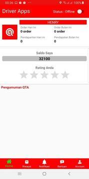 ANTARQTA - Aplikasi Mitra Driver poster