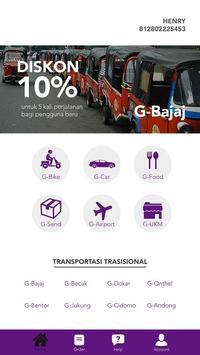 BATAK TRANS - Transportasi Online poster