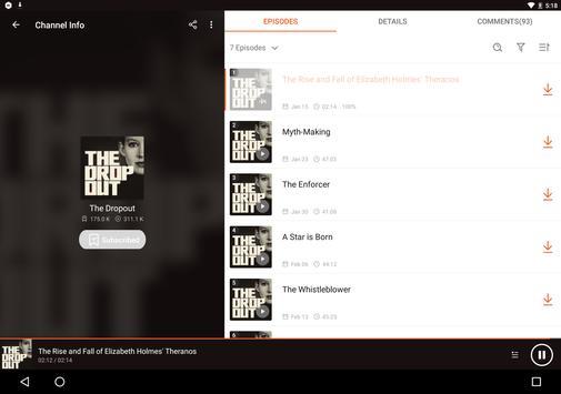 Podcast Player & Podcast App - Castbox screenshot 12