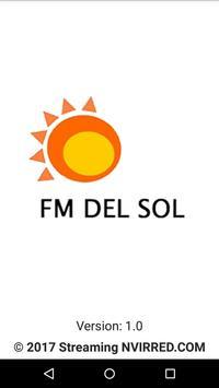 FM DEL SOL 104.5 poster