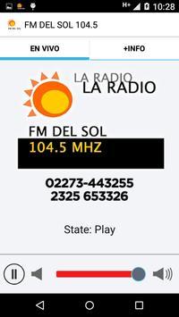 FM DEL SOL 104.5 screenshot 1
