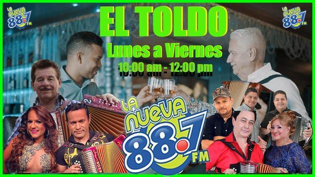 FM LA NUEVA 887 ảnh chụp màn hình 2