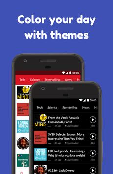Podcast App: Free & Offline Podcasts by Player FM screenshot 4