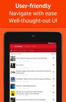 Podcast App: Free & Offline Podcasts by Player FM screenshot 10