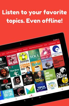 Podcast App: Free & Offline Podcasts by Player FM screenshot 1