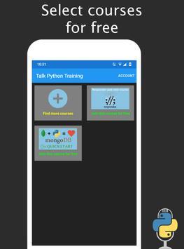 Talk Python Training screenshot 2