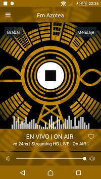 FM Azotea del Tuyú 102.3 poster