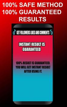 TokTik Booster:Get Followers & Fans & Likes💖 screenshot 1