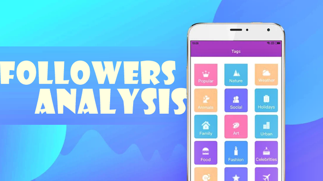 Followers Insight for Instagram Free تصوير الشاشة 1