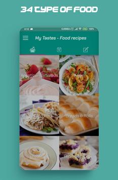 Food recipes, make your food plans screenshot 1