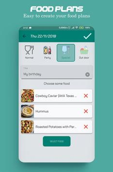 Food recipes, make your food plans screenshot 3