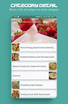 Food recipes, make your food plans screenshot 4