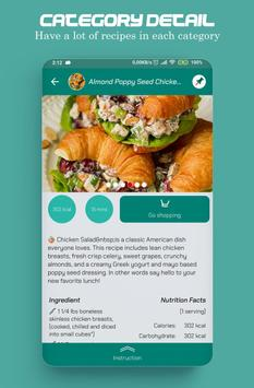 Food recipes, make your food plans screenshot 5