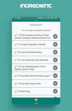 Food recipes, make your food plans screenshot 6