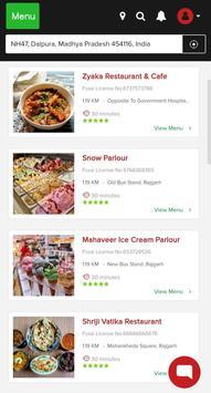 FoodEx Delivery screenshot 1