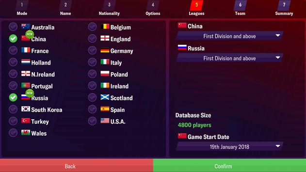 Football Manager 2019 Mobile 截圖 1