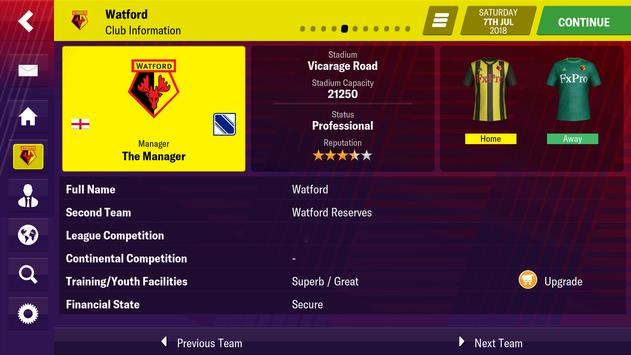 Football Manager 2019 Mobile 截圖 2