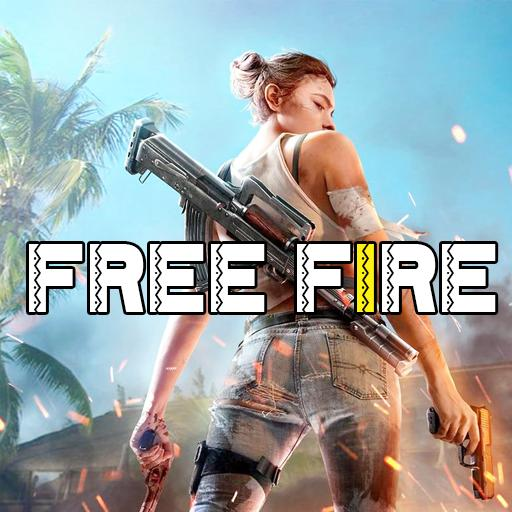 Free Fire Diamonds Gold Carachter Stickers Game For