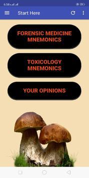 Toxicology-Forensic Medicine Mnemonics screenshot 3