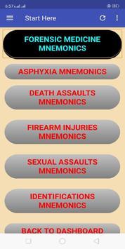Toxicology-Forensic Medicine Mnemonics screenshot 2
