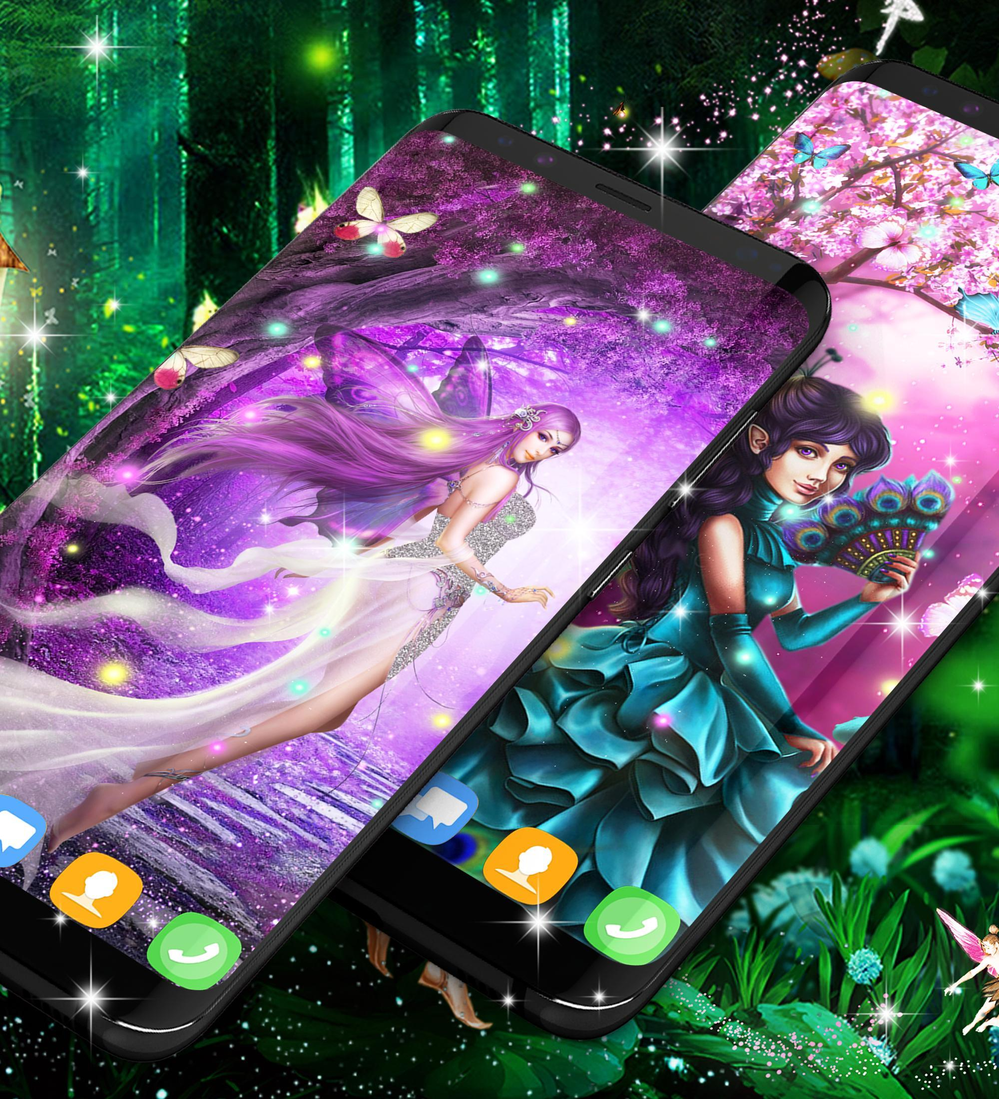 Forest Fairy Magical Night Live Wallpaper For Android Apk Download
