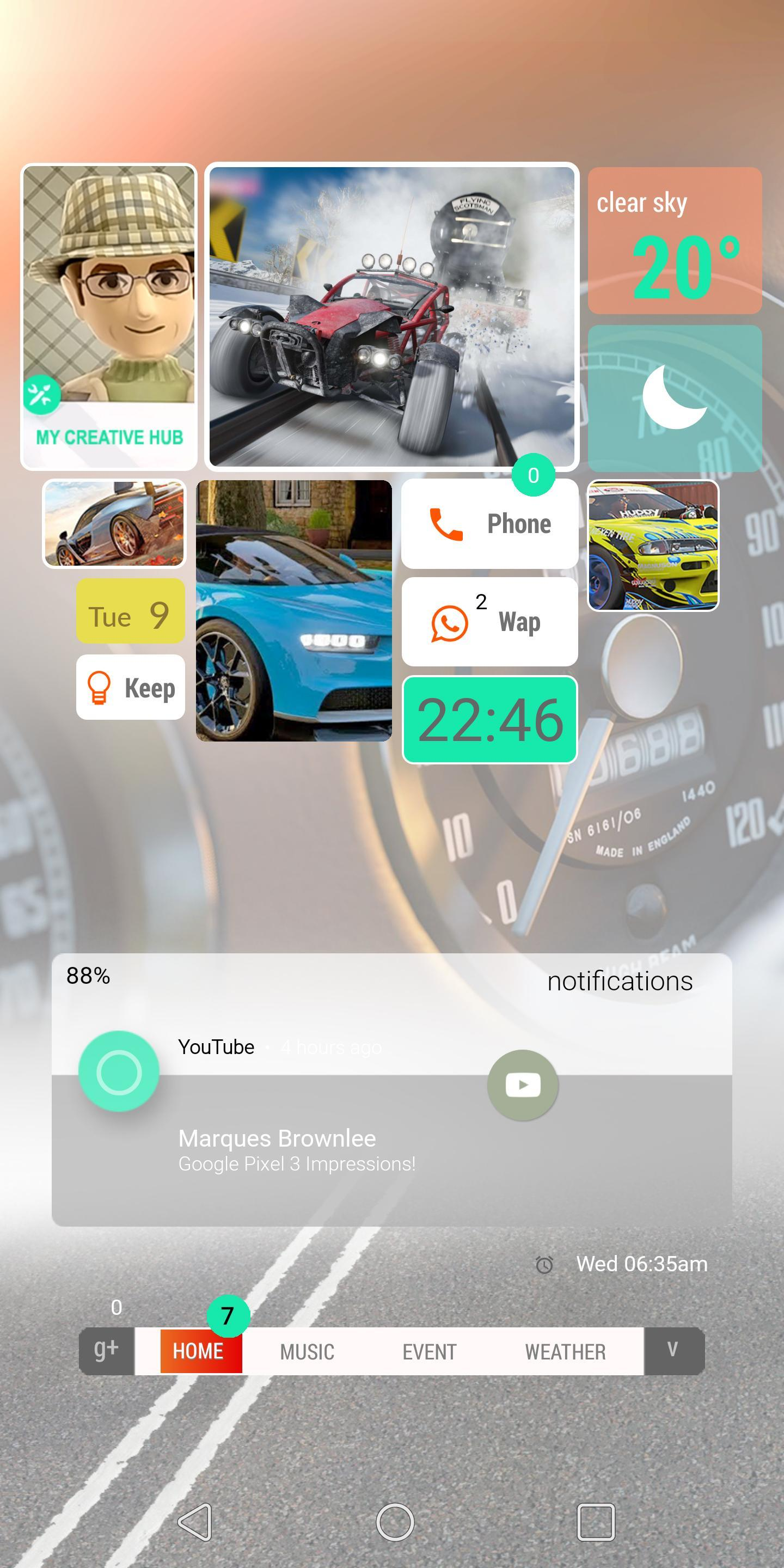 Forza Horizon 4 KLWP Preset for Android - APK Download