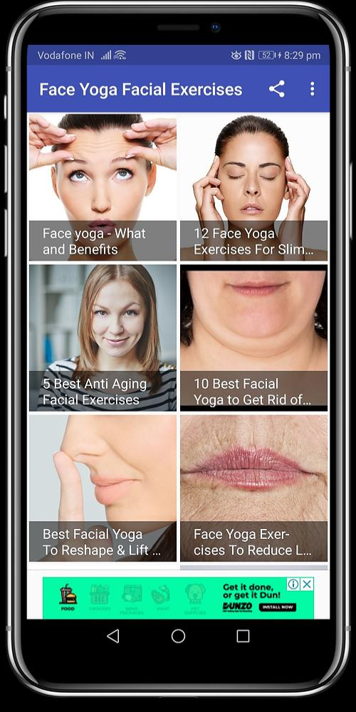 Face Yoga Facial Exercises For Android Apk Download
