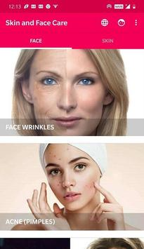 Skin and Face Care poster