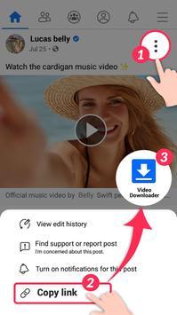 Video Downloader for Facebook Video Downloader poster