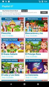 Spanish Fairy Tales (Española cuentos de hadas) screenshot 4