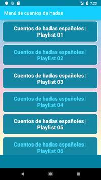 Spanish Fairy Tales (Española cuentos de hadas) screenshot 1
