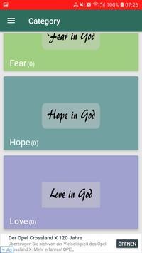 Faith-Hope-Love-Fear wallpapers in KJV-free screenshot 2