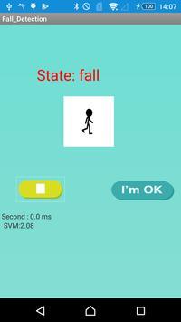 Fall Detection screenshot 1