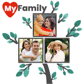 Family Tree Photo Collage Maker icon