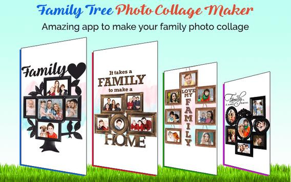 Family Tree Photo Collage Maker poster