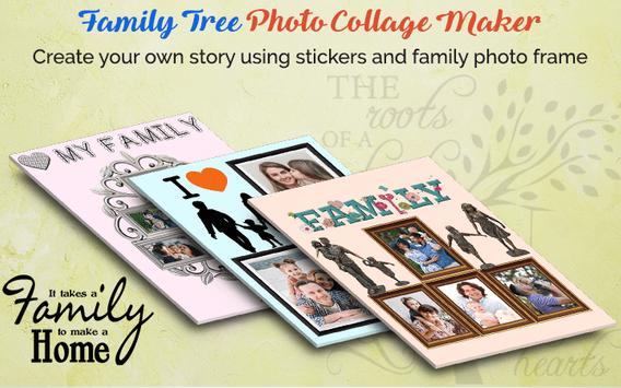 Family Tree Photo Collage Maker screenshot 1