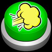 Fart Wind Button Joke icon
