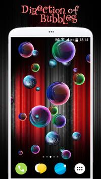 Magic Bubbles Live Wallpaper poster
