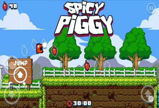 Runner Spicy Piggy Guide! screenshot 1