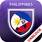 VPN Philippines , Proxy Browser - Unblock Sites icon