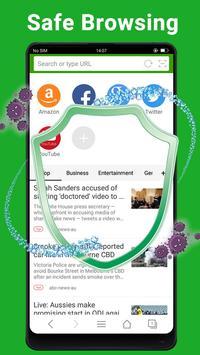 वेब ब्राउज़र - तेज़, निजी और समाचार स्क्रीनशॉट 4