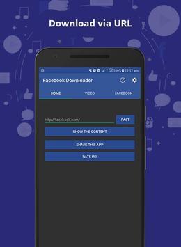 Active Video Downloader for Facebook screenshot 2