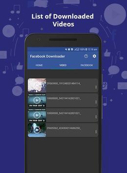 Active Video Downloader for Facebook screenshot 3