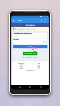 Video Downloader for Facebook plakat